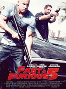 Fast Five - French Movie Poster (xs thumbnail)