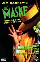 The Mask - German DVD movie cover (xs thumbnail)
