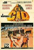 El Cid - Brazilian Movie Poster (xs thumbnail)