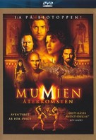 The Mummy Returns - Swedish DVD cover (xs thumbnail)