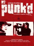 """Punk'd"" - Italian DVD movie cover (xs thumbnail)"