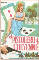 Heller in Pink Tights - Spanish Movie Poster (xs thumbnail)