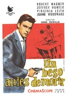 A Kiss Before Dying - Spanish Movie Poster (xs thumbnail)