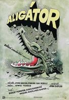 Alligator - Czech Movie Poster (xs thumbnail)