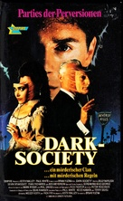 Society - German VHS movie cover (xs thumbnail)