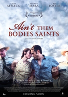 Ain't Them Bodies Saints - Dutch Movie Poster (xs thumbnail)