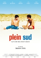 Plein sud - German Movie Poster (xs thumbnail)