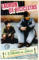 Ladri di biciclette - Spanish Movie Poster (xs thumbnail)
