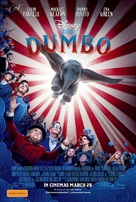 Dumbo - Australian Movie Poster (xs thumbnail)