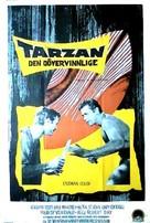 Tarzan the Magnificent - Swedish Movie Poster (xs thumbnail)