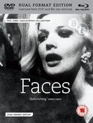 Faces - British Blu-Ray movie cover (xs thumbnail)