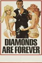 Diamonds Are Forever - British Advance movie poster (xs thumbnail)