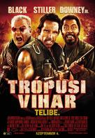 Tropic Thunder - Hungarian Movie Poster (xs thumbnail)