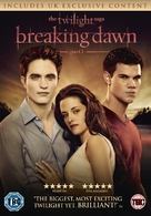The Twilight Saga: Breaking Dawn - Part 1 - British DVD movie cover (xs thumbnail)