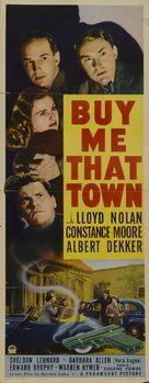 Buy Me That Town - Movie Poster (xs thumbnail)