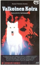 White Dog - Finnish Movie Cover (xs thumbnail)