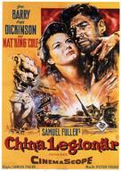 China Gate - German Movie Poster (xs thumbnail)