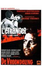 Lo straniero - Belgian Movie Poster (xs thumbnail)