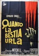 Monkey on My Back - Italian Movie Poster (xs thumbnail)