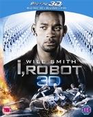 I, Robot - British Blu-Ray movie cover (xs thumbnail)