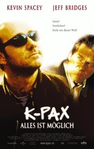 K-PAX - German Movie Poster (xs thumbnail)
