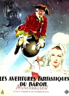 Münchhausen - French poster (xs thumbnail)