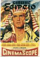 The Egyptian - Spanish Movie Poster (xs thumbnail)