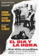 Le jour et l'heure - Spanish Movie Poster (xs thumbnail)