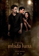 The Twilight Saga: New Moon - Slovenian Movie Poster (xs thumbnail)