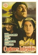 Captains Courageous - Spanish Movie Poster (xs thumbnail)