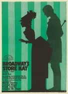 Lights of Old Broadway - Danish Movie Poster (xs thumbnail)