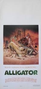 Alligator - Italian Movie Poster (xs thumbnail)