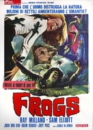 Frogs - Italian Movie Poster (xs thumbnail)