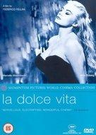 La dolce vita - British DVD cover (xs thumbnail)