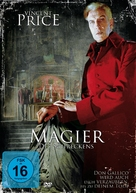 The Mad Magician - German Movie Cover (xs thumbnail)