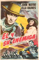 Tall in the Saddle - Spanish Movie Poster (xs thumbnail)