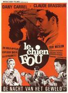Le chien fou - Belgian Movie Poster (xs thumbnail)