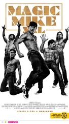 Magic Mike XXL - Hungarian Movie Poster (xs thumbnail)