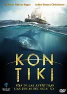 Kon-Tiki - Spanish DVD cover (xs thumbnail)