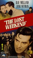 The Lost Weekend - VHS cover (xs thumbnail)