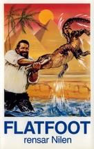 Piedone d'Egitto - Swedish VHS movie cover (xs thumbnail)