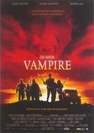 Vampires - German Movie Poster (xs thumbnail)