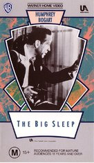 The Big Sleep - Australian VHS movie cover (xs thumbnail)