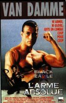 Black Eagle - French VHS cover (xs thumbnail)
