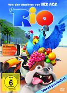 Rio - German DVD movie cover (xs thumbnail)