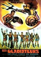 Schiavi più forti del mondo, Gli - French Movie Poster (xs thumbnail)