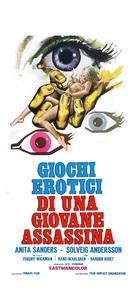 Skräcken har 1000 ögon - Italian Movie Poster (xs thumbnail)