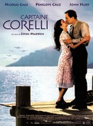 Captain Corelli's Mandolin - French Movie Poster (xs thumbnail)