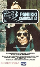 Two-Minute Warning - Finnish VHS movie cover (xs thumbnail)