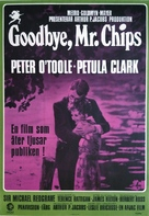 Goodbye, Mr. Chips - Swedish Movie Poster (xs thumbnail)